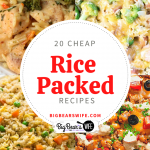 20 Cheap Rice Packed Recipes