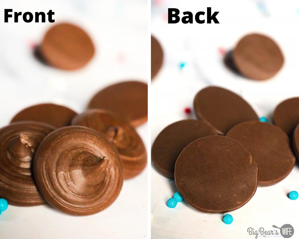 Homemade Chocolate Mickey Ears for Cupcakes