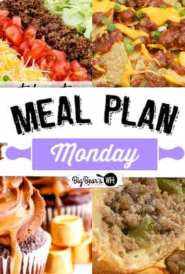 Welcome to Meal Plan Monday 215 where we're featuring recipes like, Homemade Taco Salad Recipe (Better Than Takeout), Sloppy Joe Nachos, Natchitoches Meat Pies and Chocolate Caramel Rolo Cupcakes!