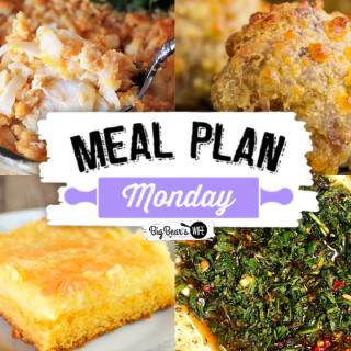 Meal Plan Monday 217 Collage