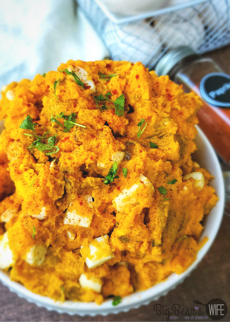 Paprika Deviled Egg Potato Salad
