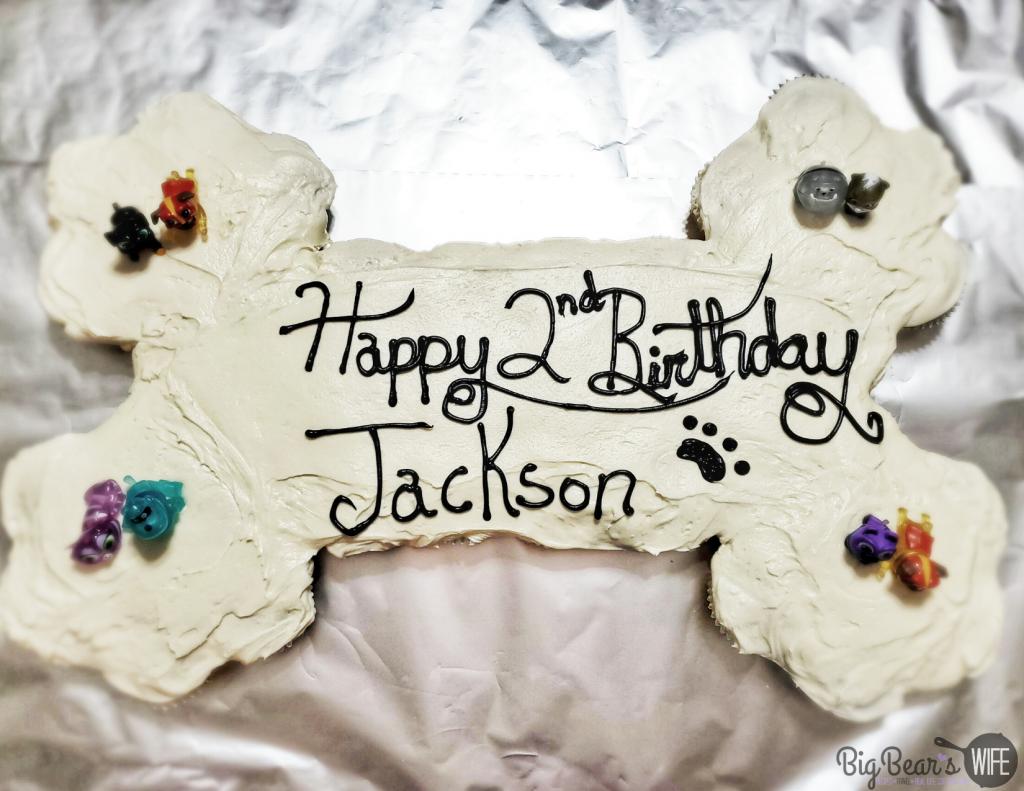 _Puppy Dog Pals Birthday Bone Cake