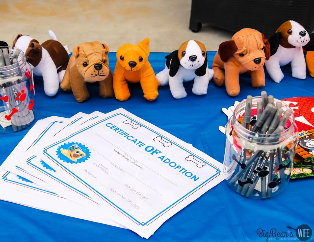 Puppy Adoption Certificates