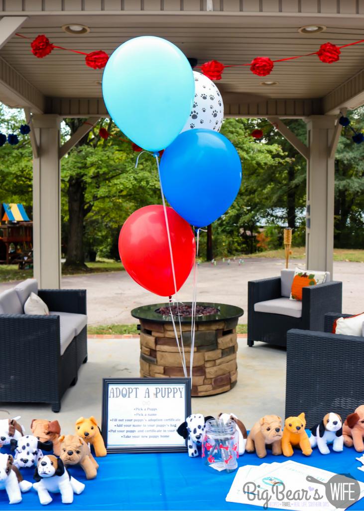 Puppy Adoption Station
