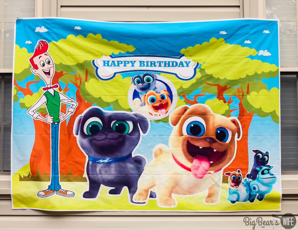 Puppy Dog Pal Birthday Banner