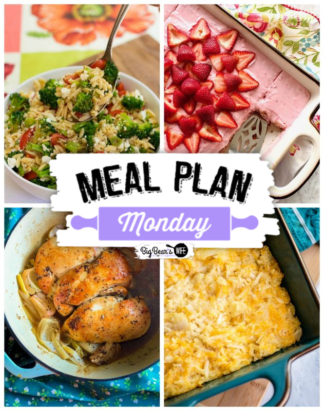 Meal plan Monday graphic for mpm216