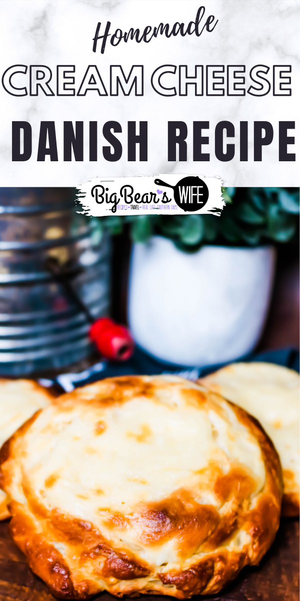Love the cream cheese danishes from the coffee shop? Let me show you how to whip up a batch in your on kitchen with this recipe for a great Homemade Cream Cheese Danish!
