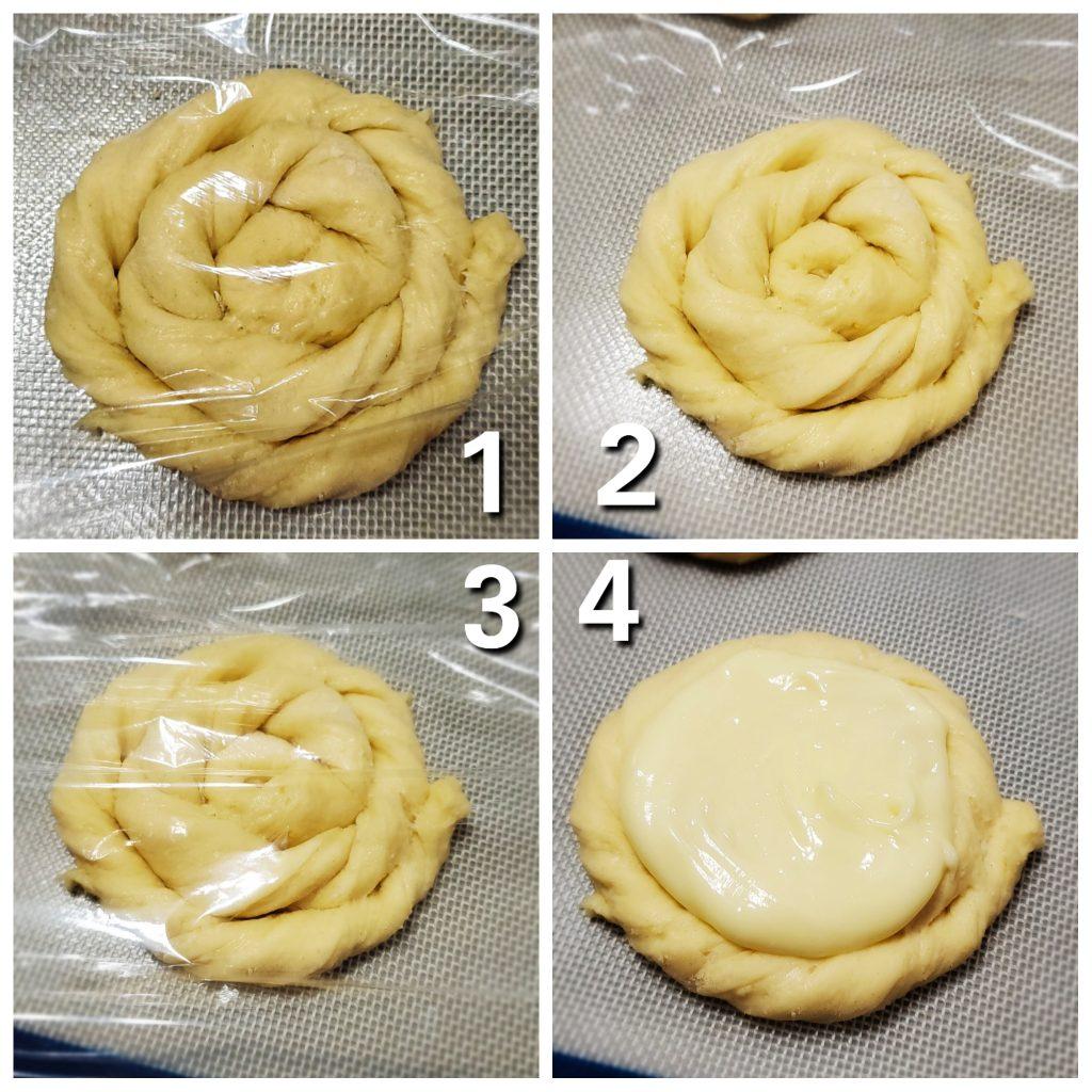 steps to making Homemade Cream Cheese Danish