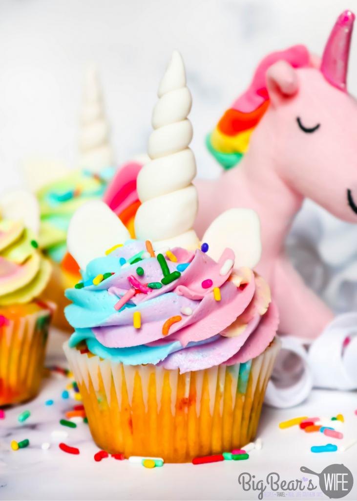 Unicorn Cupcakes