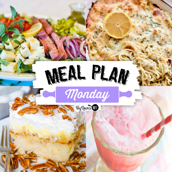 Meal Plan Monday 225