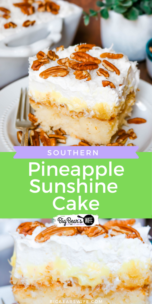 Southern Pineapple Sunshine Cake