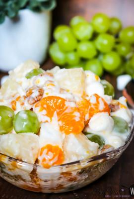 Ma' Southern Ambrosia Salad