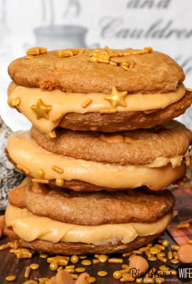 ButterBeer Sandwich Cookies