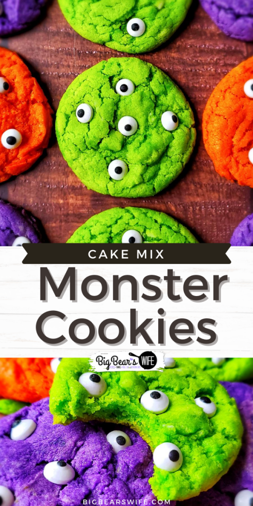 Cake Mix Monster Cookies