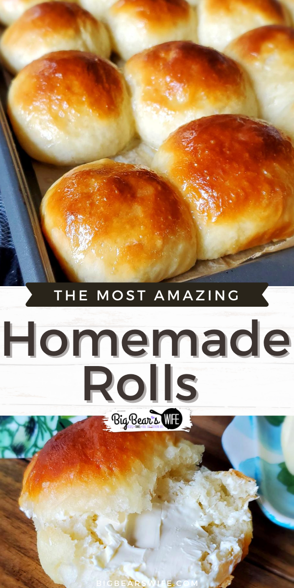 These Fluffy Homemade Rolls are so easy to make and go perfectly with homemade Cinnamon Butter. This vintage recipe was one of my grandmother's recipes and we love it.