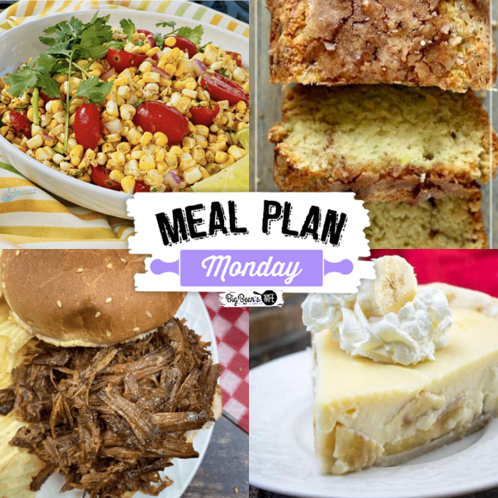 Welcome back friends! We've got a delicious Meal Plan Monday waiting for you this week with some popular feature recipes from last week's roundup and over a hundred new recipes from some of the best food blogs around the web. via @bigbearswife