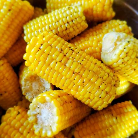 Milk Butter Corn on the Cob