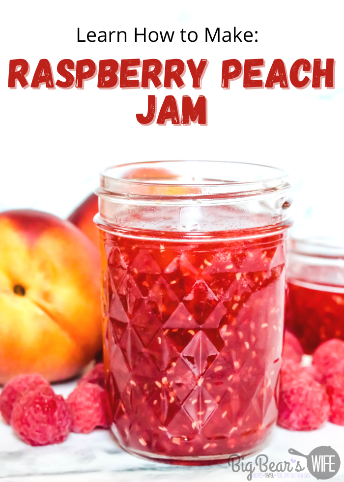 Want to savor the flavors of summer all year long? This Easy Raspberry Peach Jam combines two of the most popular fresh summer fruits for a bright, fresh flavor explosion. All you need is four ingredients and 30 minutes.
