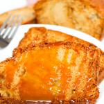 Caramel Apple Tea Cake #FallFlavors