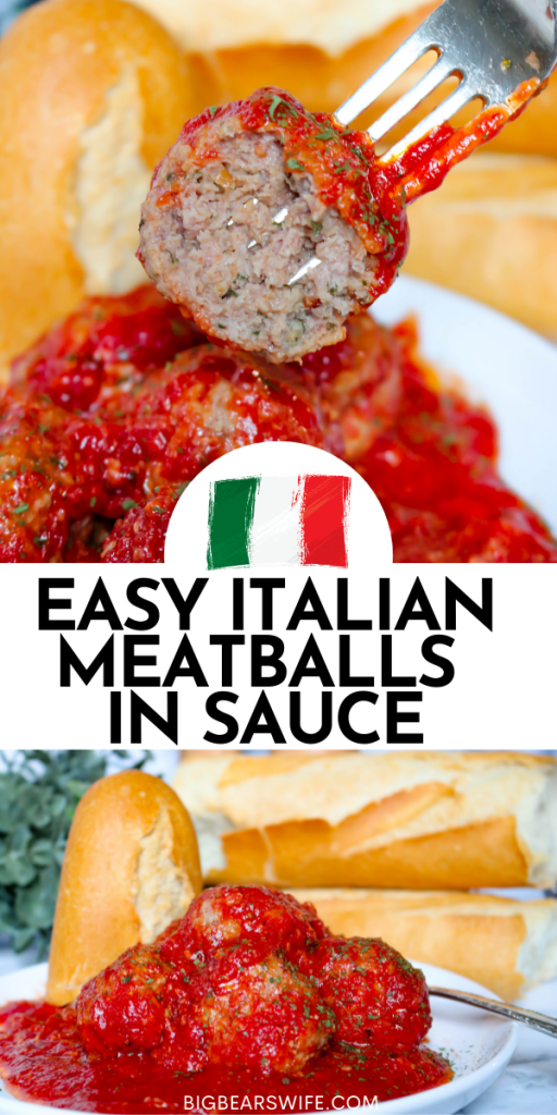 Easy Italian Meatballs in Sauce Recipe