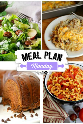 Hey Y'all, welcome to Meal Plan Monday 234!