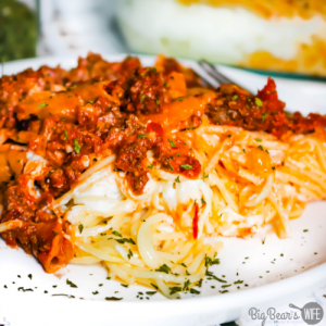 Meghan's Million Dollar Spaghetti is one of the best Million Dollar Spaghetti recipes ever! My sister in law has turned the famous Million Dollar Spaghetti into her own keepsake family recipe by making it super creamy and adding salsa!