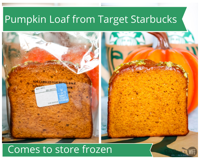 Pumpkin Loaf from Target Starbucks
