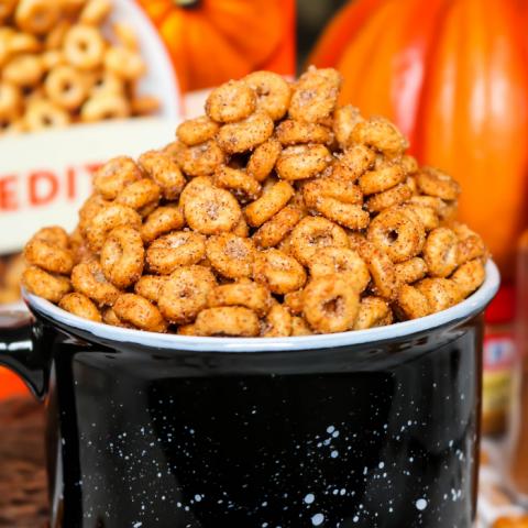 Toasted Pumpkin Spice Cheerios