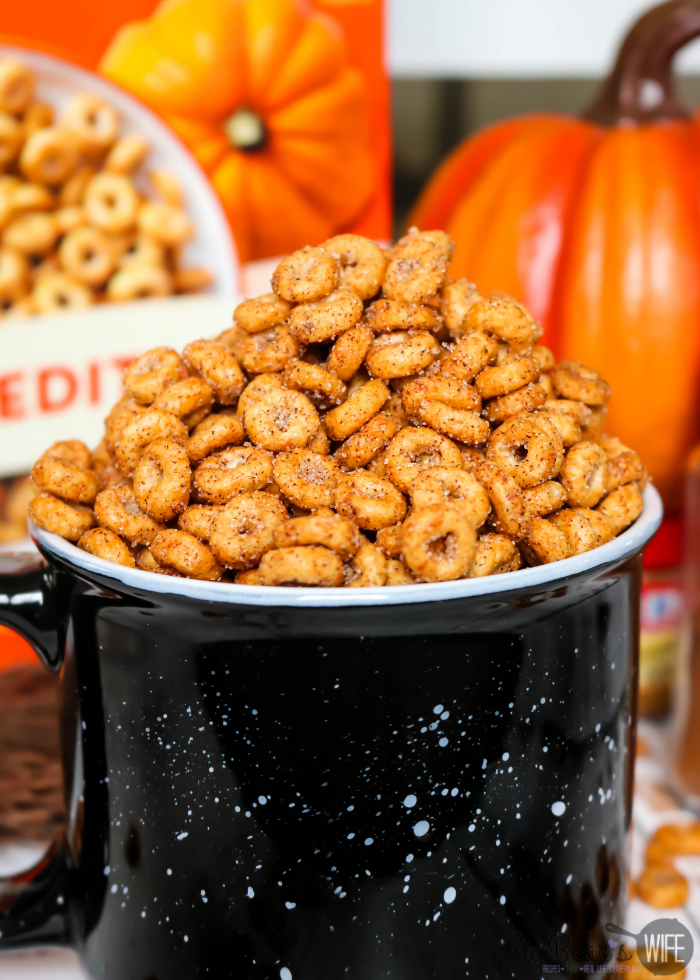 Toasted Pumpkin Spice Cheerios