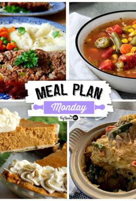 Meal Plan Monday 239