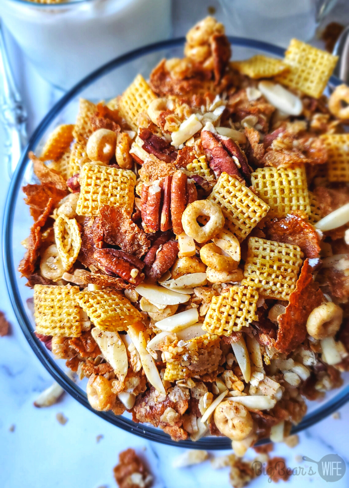 HEALTHY GRANOLA CEREAL RECIPE
