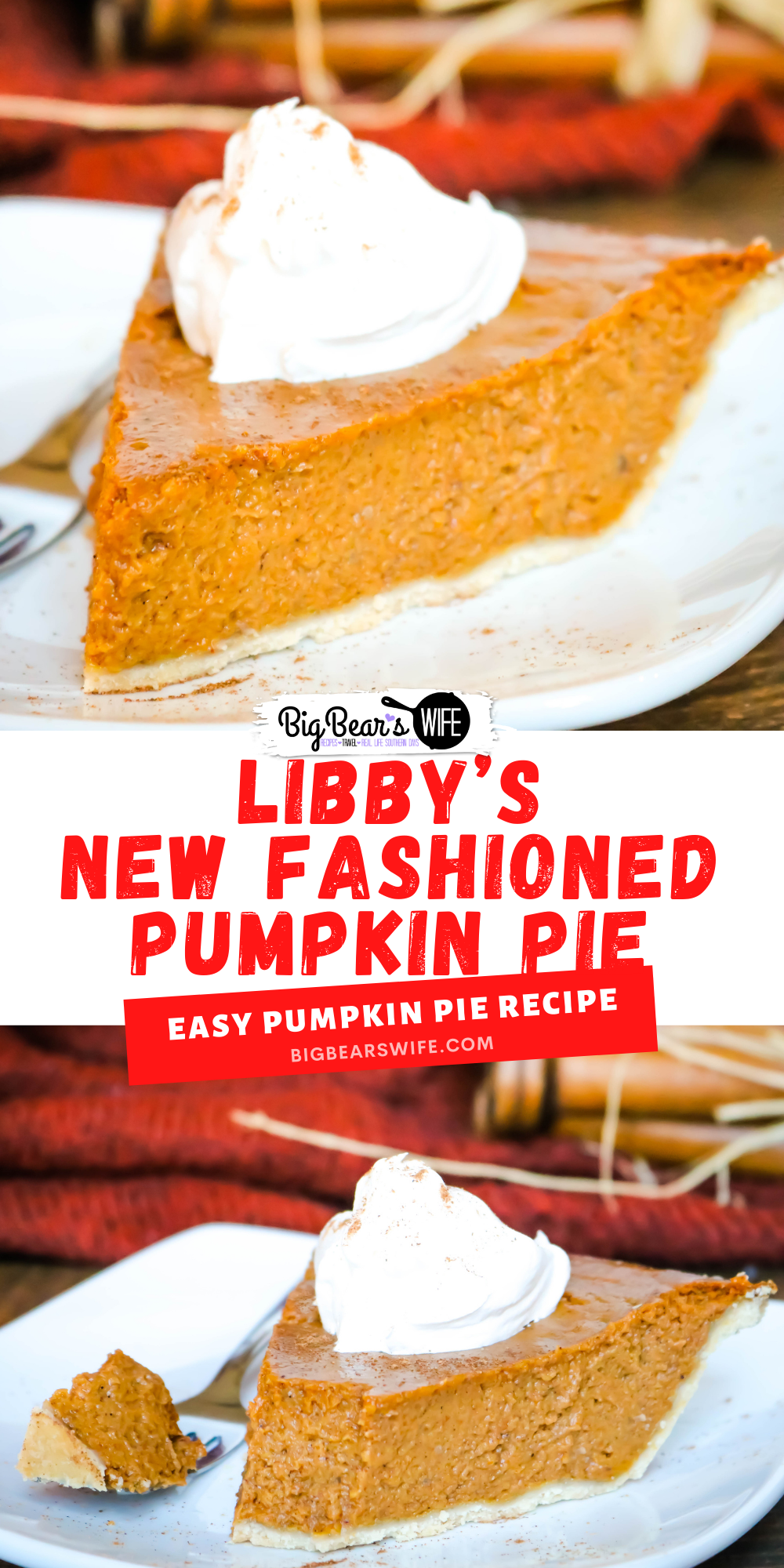 Libby's changed their famous pumpkin pie in 2019 so now you'll find the old one and the new recipe on their cans of pure pumpkin. This is Libby's New Fashioned Pumpkin Pie Recipe! via @bigbearswife
