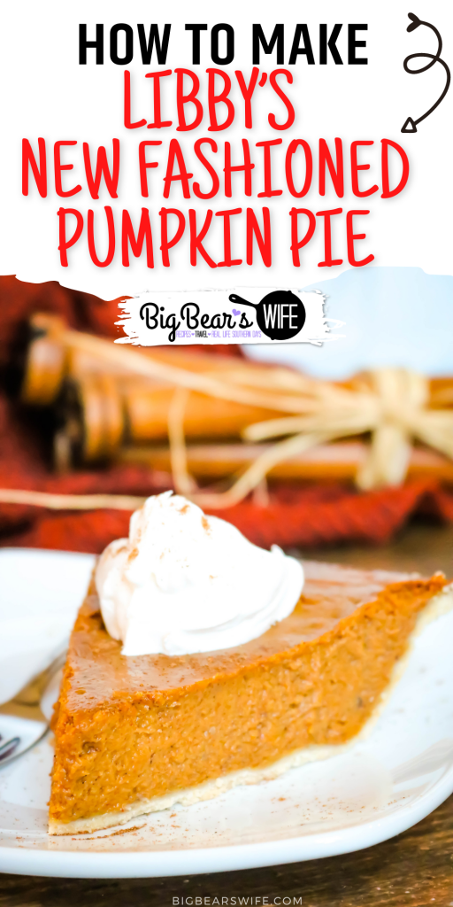 Libby's changed their famous pumpkin pie in 2019 so now you'll find the old one and the new recipe on their cans of pure pumpkin. This is Libby's New Fashioned Pumpkin Pie Recipe!