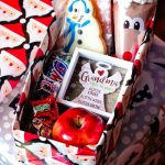 Vintage Christmas Shoe Box Gift Idea