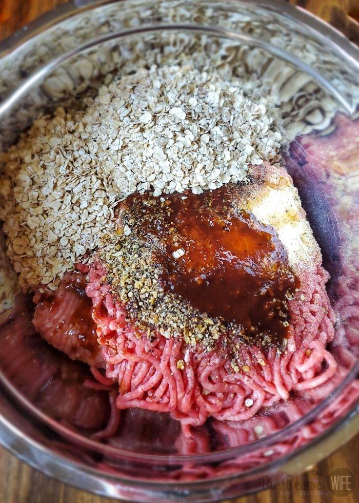 Meatloaf mixture