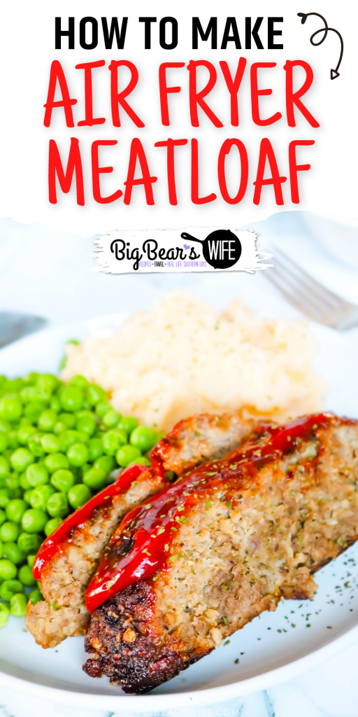 This easy Air Fryer Meatloaf is made with ground beef and ground turkey along with some great seasonings. It takes less than 45 minutes to cook and it is absolutelydelicious.