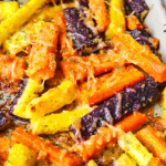 Parmesan Garlic Roasted Carrots