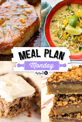 Hey, y'all! It's time for another delicious edition of Meal Plan Monday!  We just love how many of you we hear from each week about how helpful MPM is.