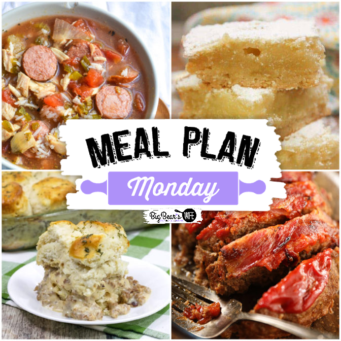Hey, y'all! Believe it or not, it's time for another super delicious edition of Meal Plan Monday! It's time for Meal Plan Monday 253!