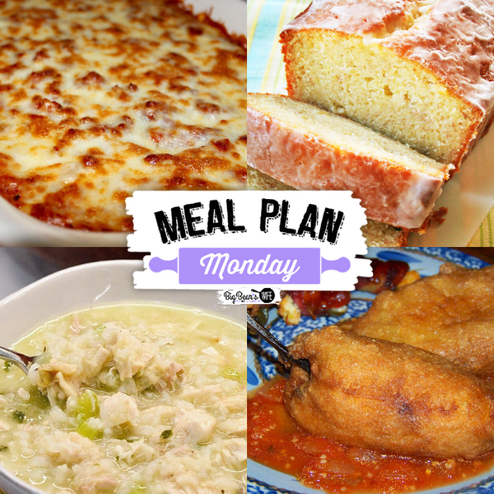 Hey y'all - and welcome to this week's Meal Plan Monday! Meal Plan Monday 252!