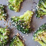 Oven Roasted Sesame Broccoli