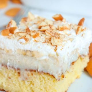 Slice of Banana Cream Pie Poke Cake (2)
