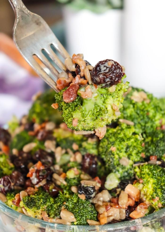 Bite of Easy Broccoli Salad