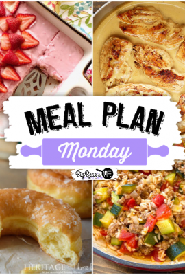 Hey, y'all! Believe it or not, it's time for another super delicious edition of Meal Plan Monday! Meal Plan Monday 258!
