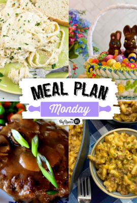 Hey Y'all! Welcome to Meal Plan Monday 259! We're so glad that you're here for another delicious edition of Meal Plan Monday, the place where you'll find great recipes to try at home.
