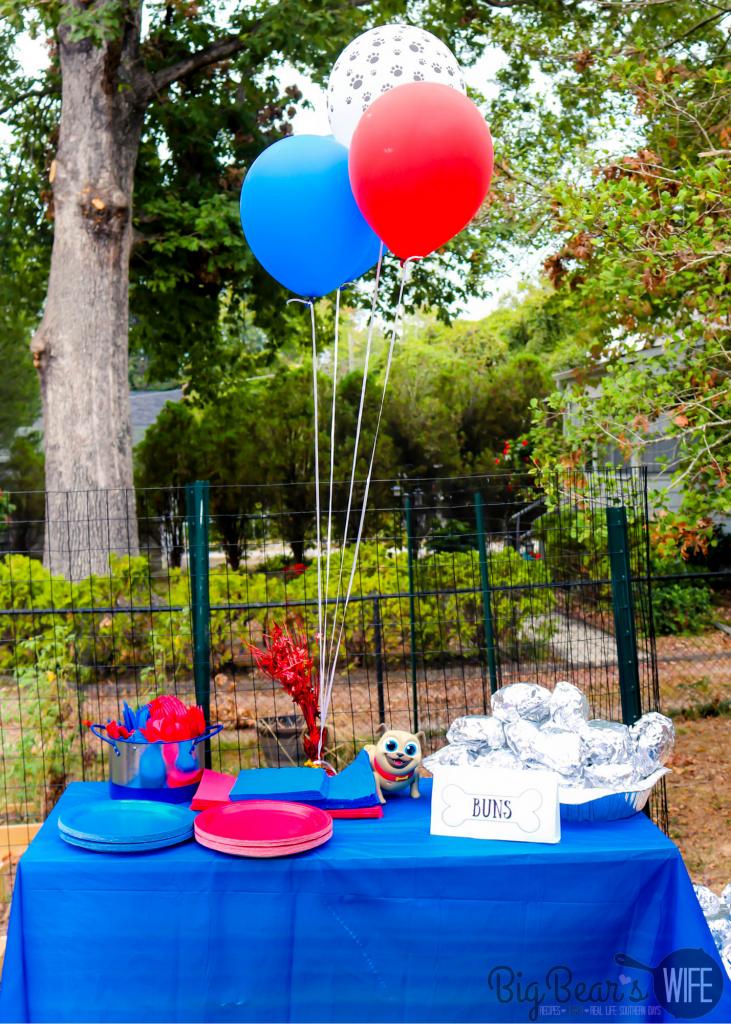 _Puppy Dog Pals Birthday Table