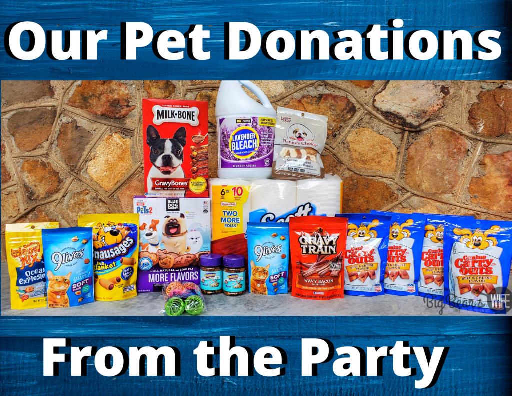 _Puppy Dog Pals Birthday Pet Donations