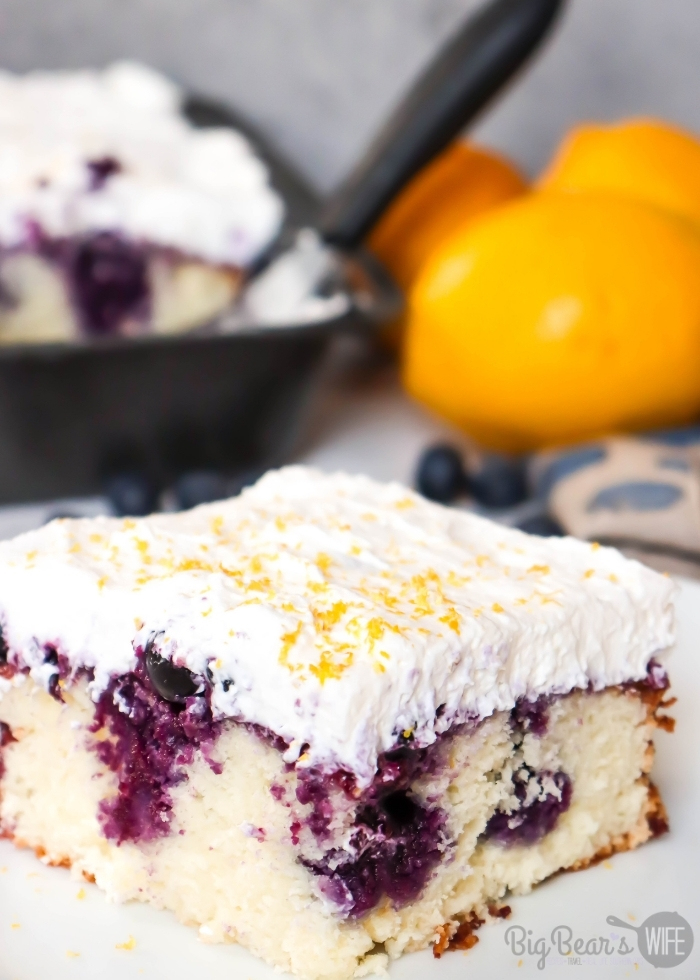 SLICE OF LEMON BLUEBERRY POKE CAKE (3)