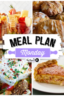 It's time for this week's Meal Plan Monday! Featuring recipes like Peach Fritters, a Jarcuterie, Gran's Incredible Ham and Cheese Quiche and TikTok Pasta with Morel Mushrooms!