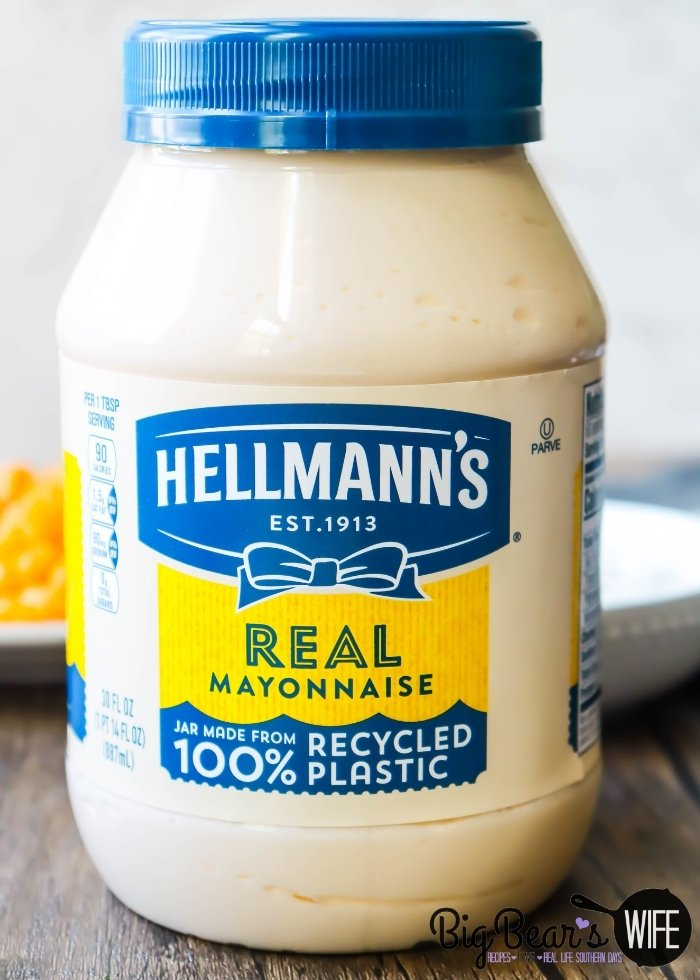 Hellmann's Mayo jar